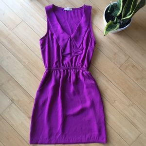 Silence + Noise purple ruffle Urban Outfitters